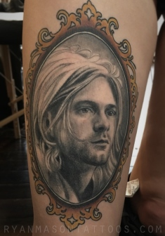 healed kurt cobain portrait, 2016