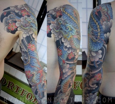 healed dragon on dave, 2013.